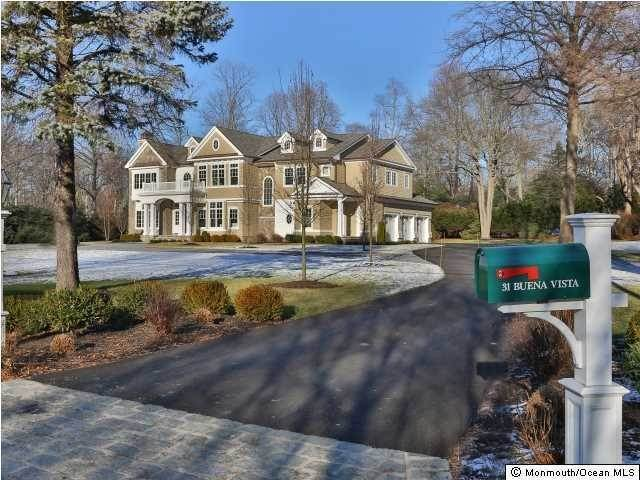 Single Family Homes at 31 Buena Vista Avenue Rumson, New Jersey 07760 United States