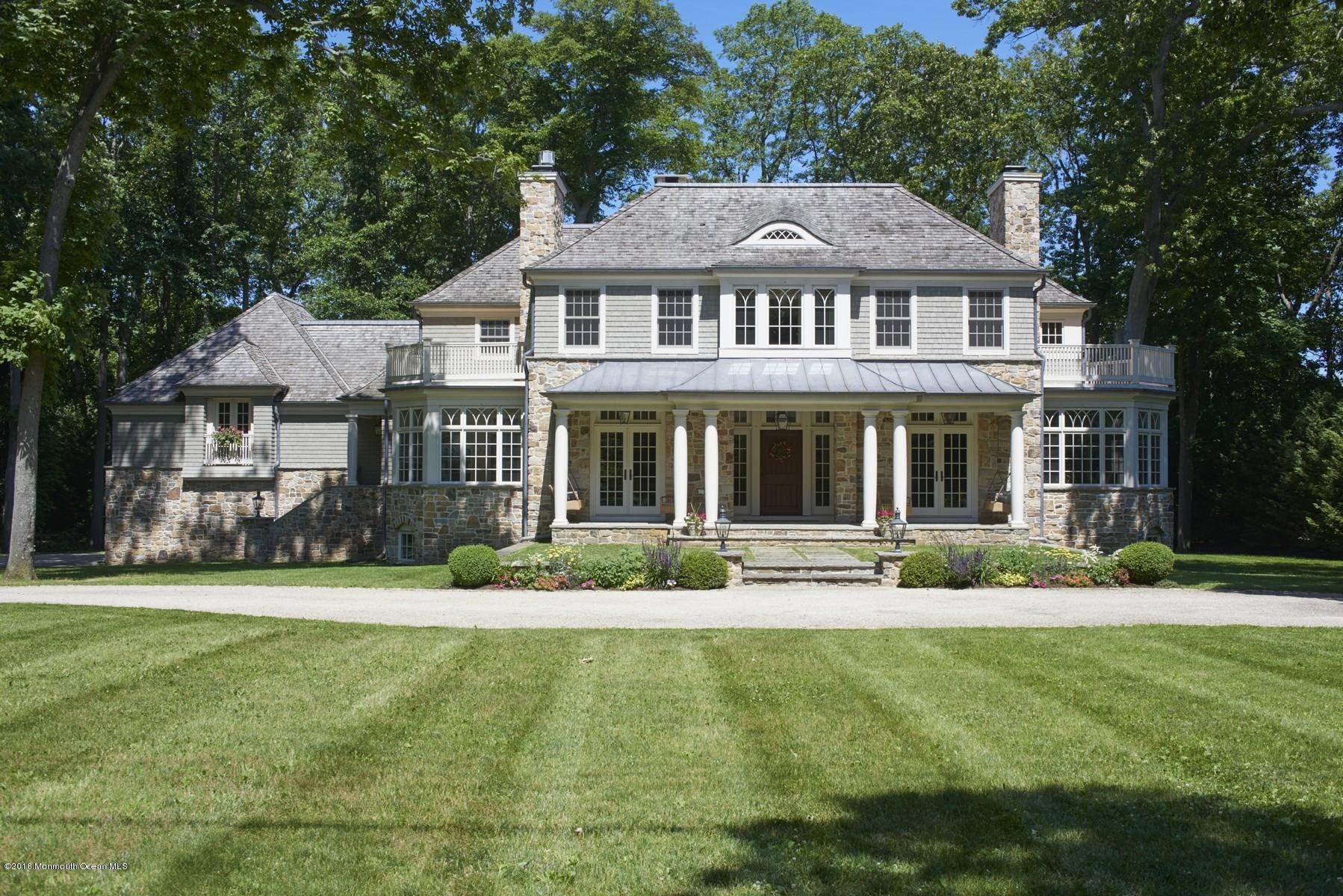 Single Family Homes at 5 Evergreen Drive Rumson, New Jersey 07760 United States