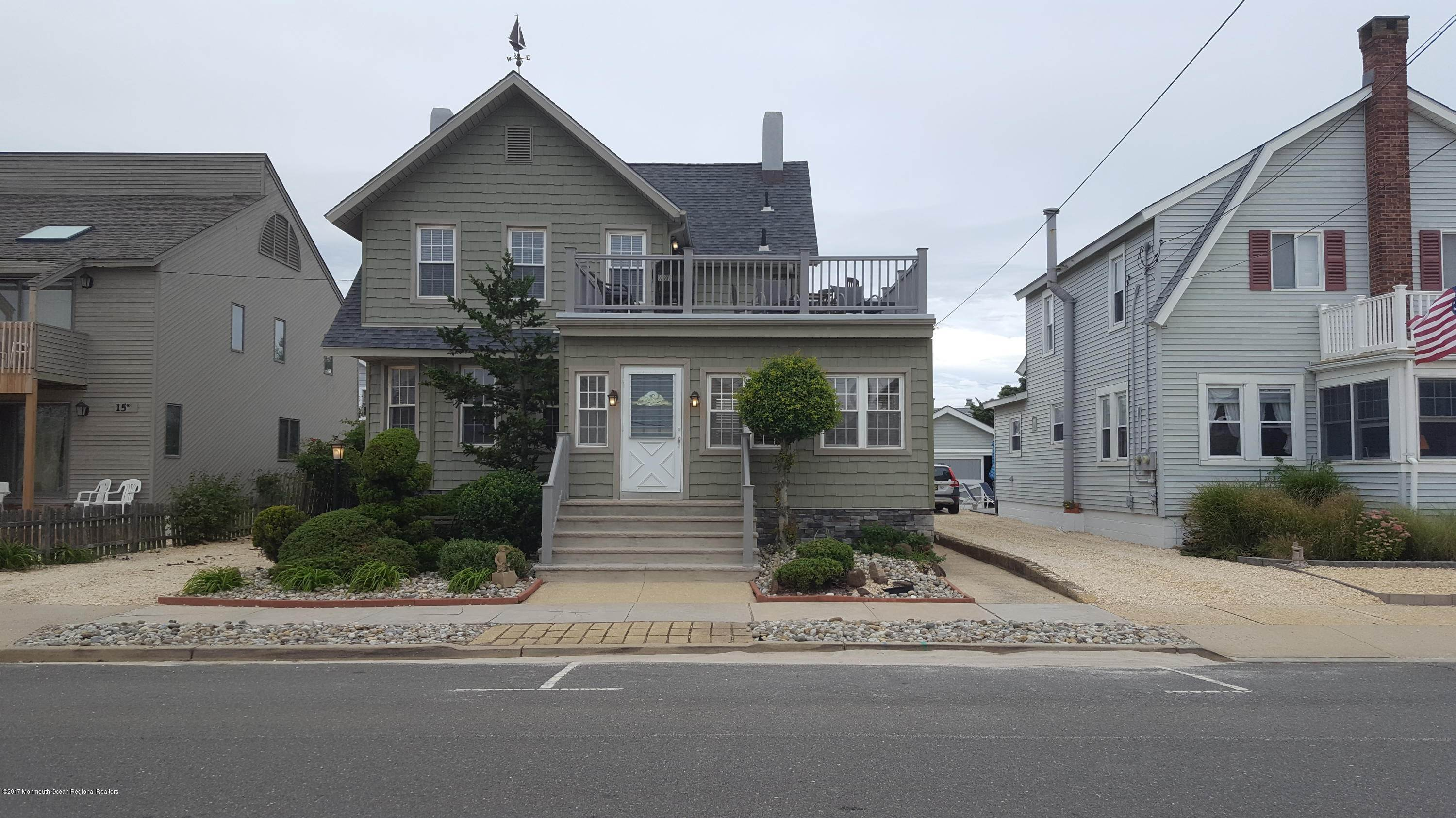 Single Family Homes at 13 Brown Avenue Lavallette, New Jersey 08735 United States