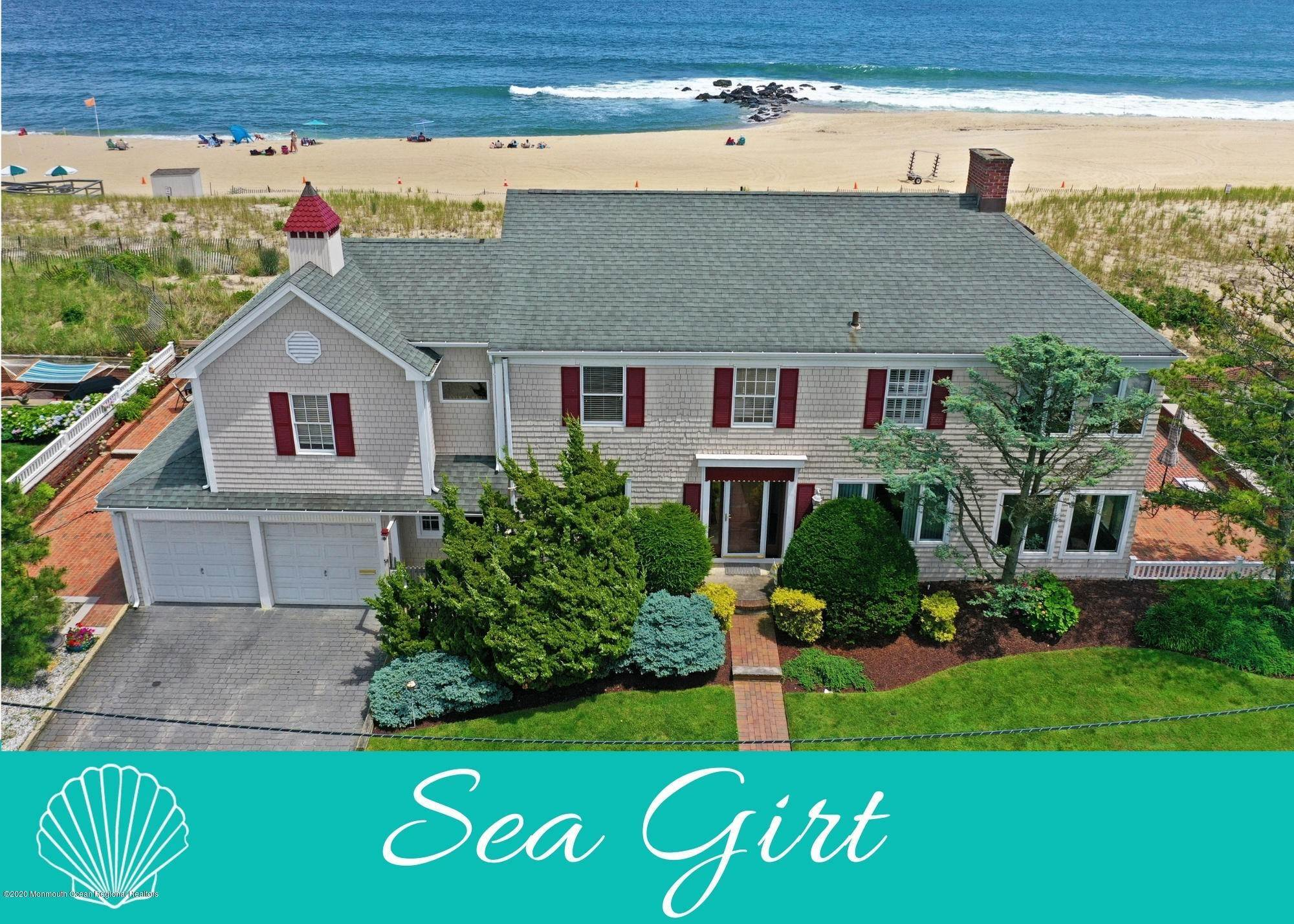 Single Family Homes for Sale at 1003 Ocean Avenue Sea Girt, New Jersey 08750 United States