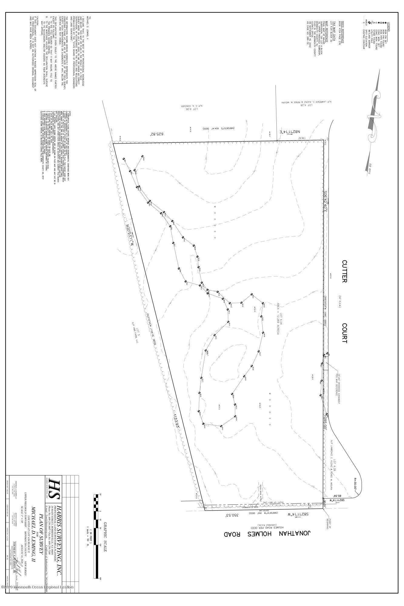Land for Sale at Jonathan Holmes Road Upper Freehold, New Jersey 08501 United States