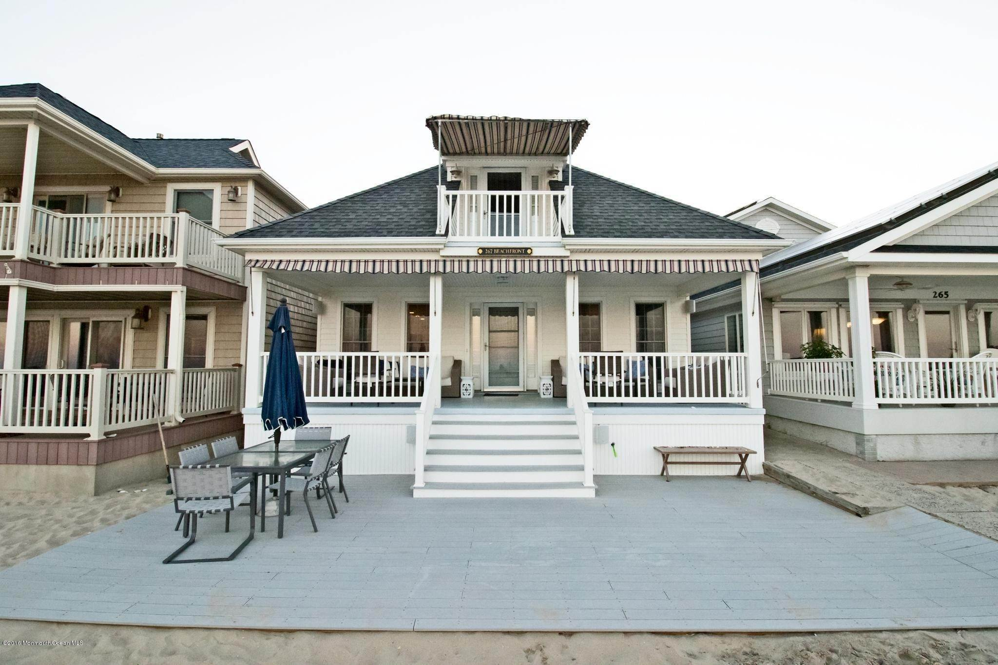Single Family Homes em 267 Beach Front Manasquan, Nova Jersey 08736 Estados Unidos