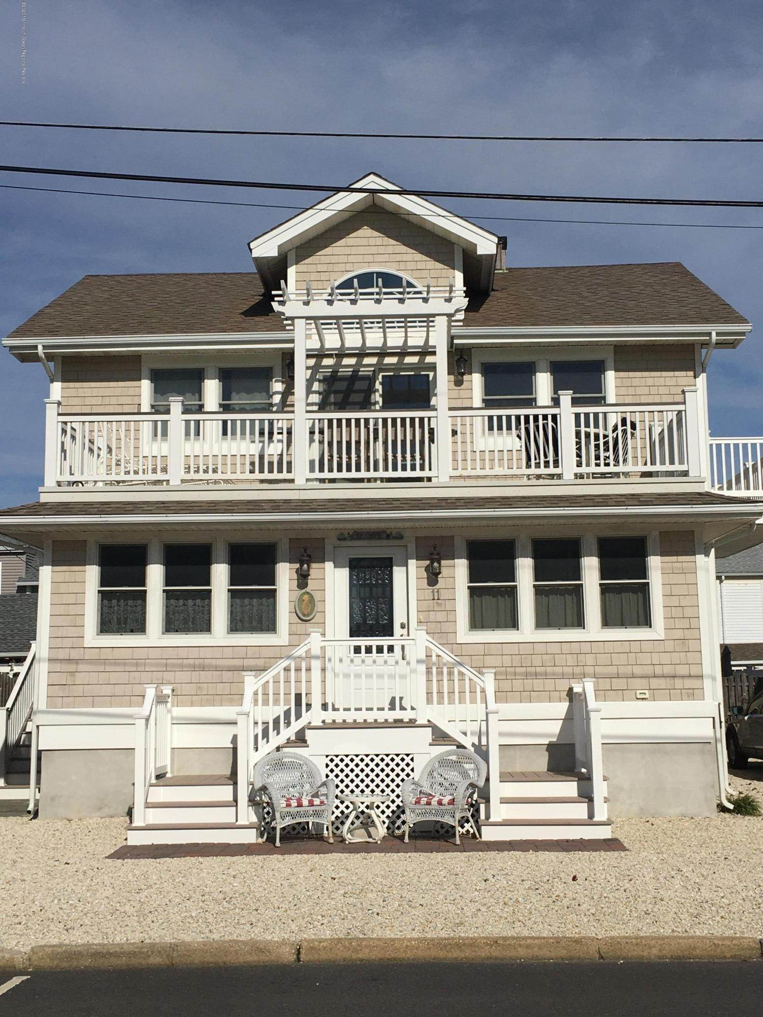 Single Family Homes at 11 Dover Avenue Lavallette, New Jersey 08735 United States