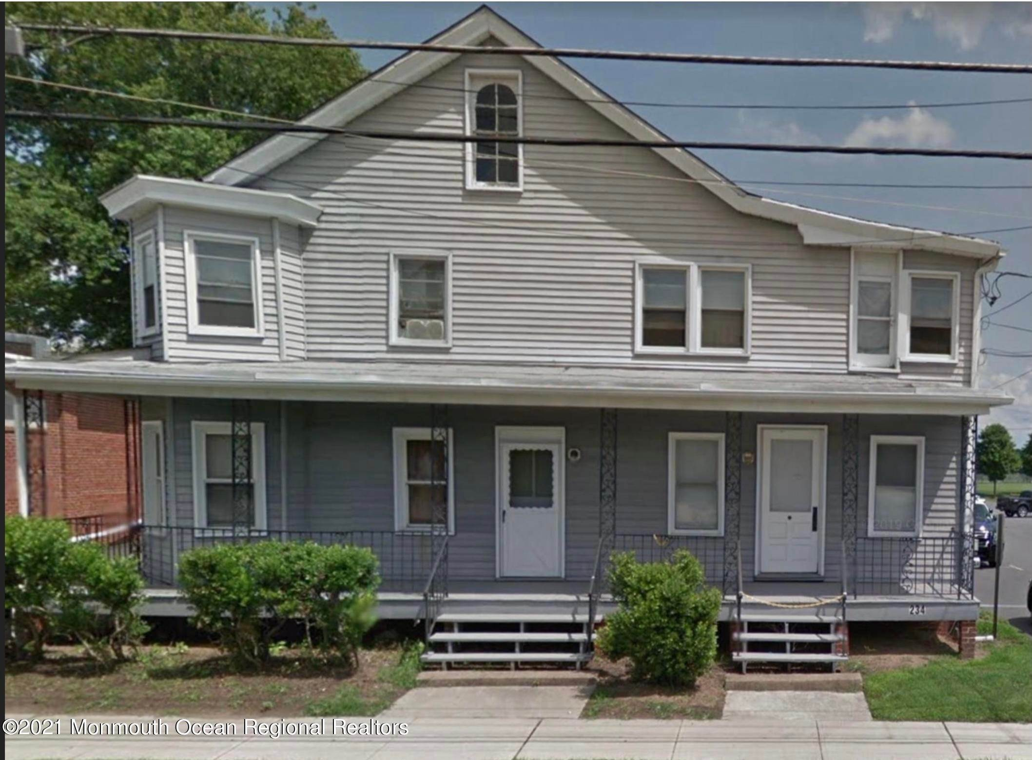 Multi-Family Homes for Sale at 234 Atlantic Avenue Columbus, New Jersey 08022 United States