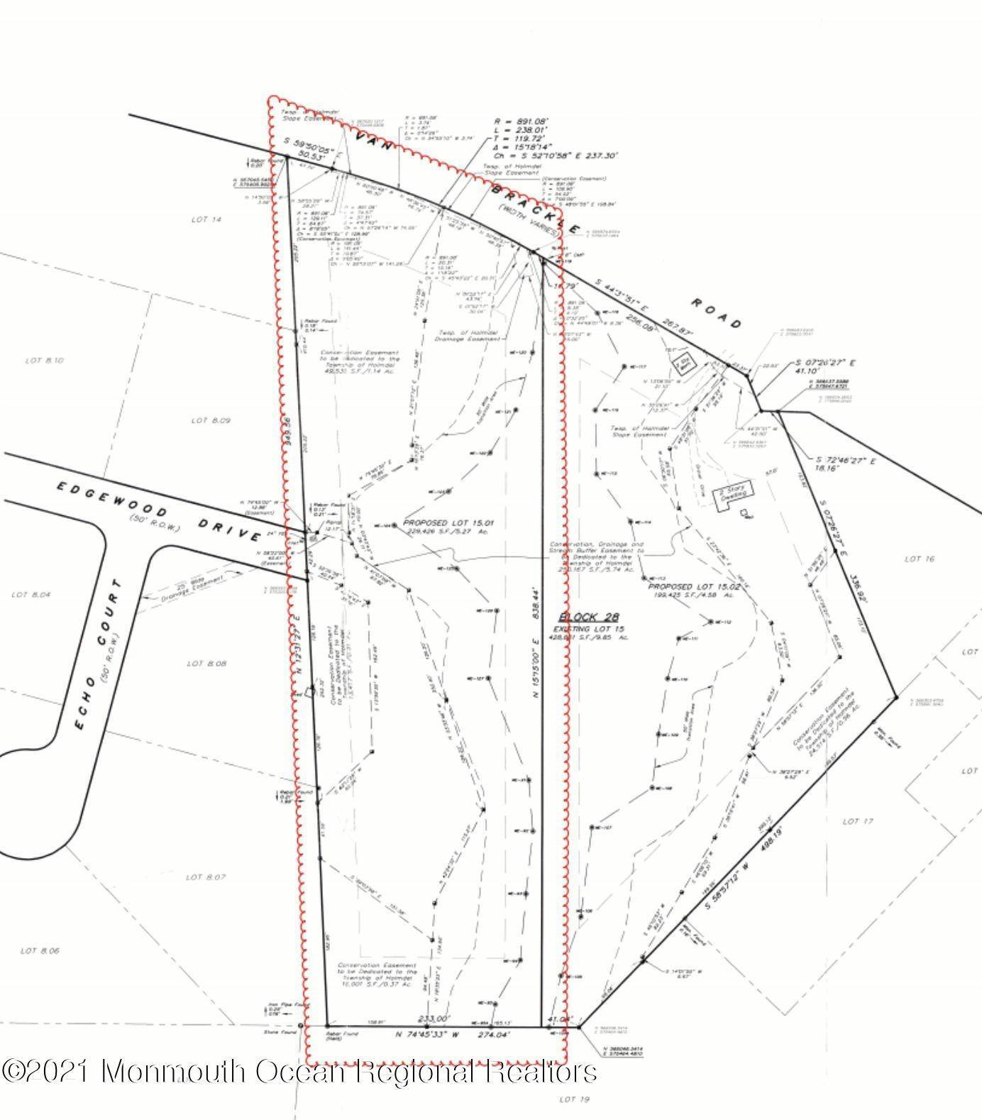 Land for Sale at 29 Van Brackle Road Holmdel, New Jersey 07733 United States