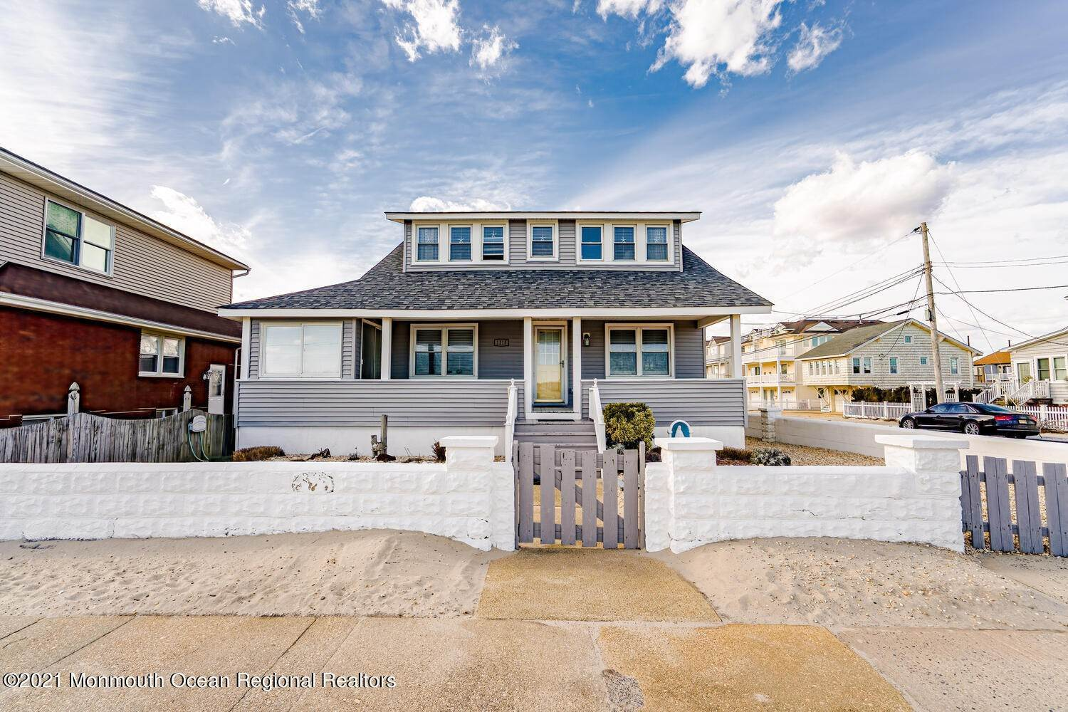 Single Family Homes for Sale at 1215 Ocean Avenue Seaside Park, New Jersey 08752 United States