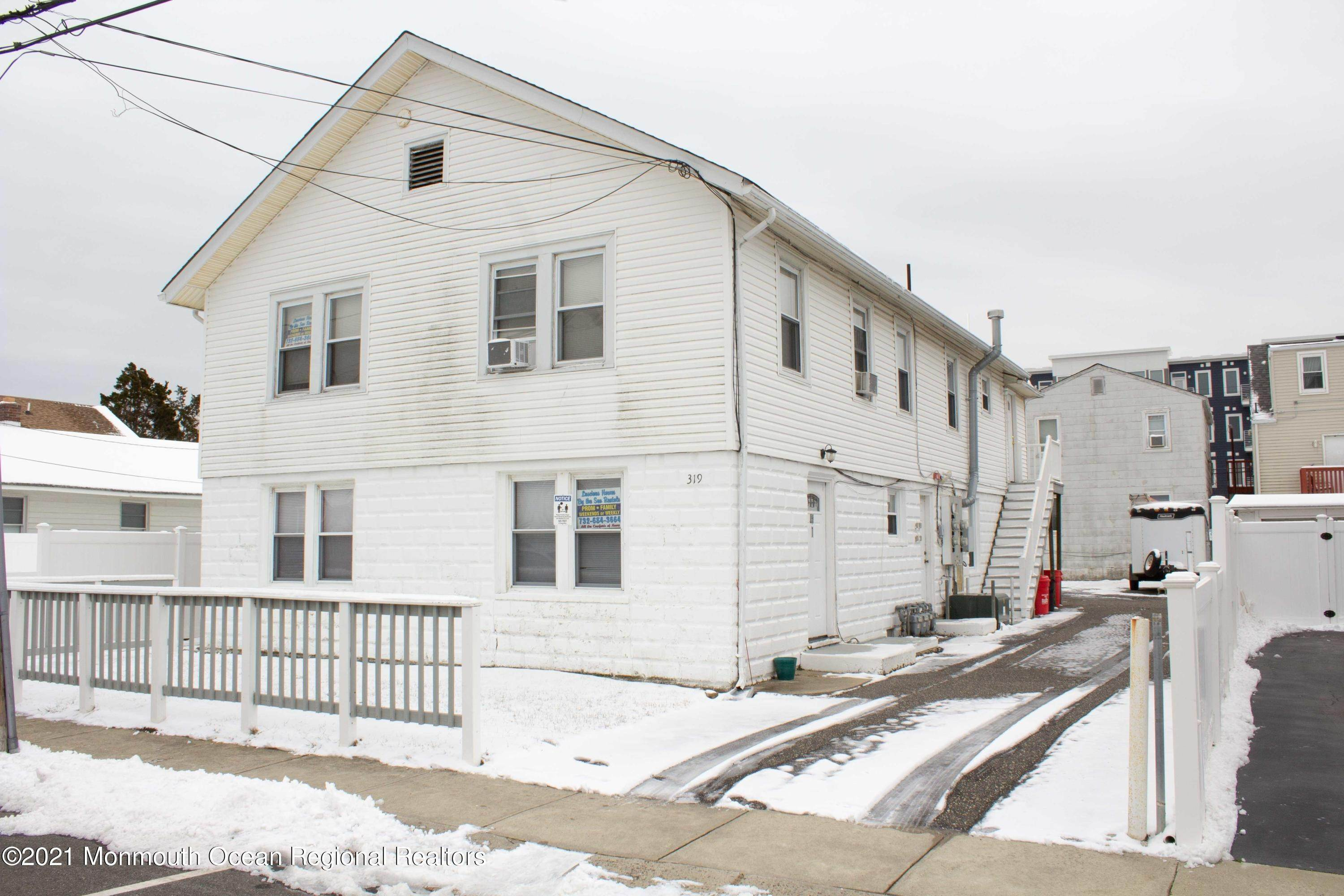 Multi-Family Homes for Sale at 319 Webster Avenue Seaside Heights, New Jersey 08751 United States