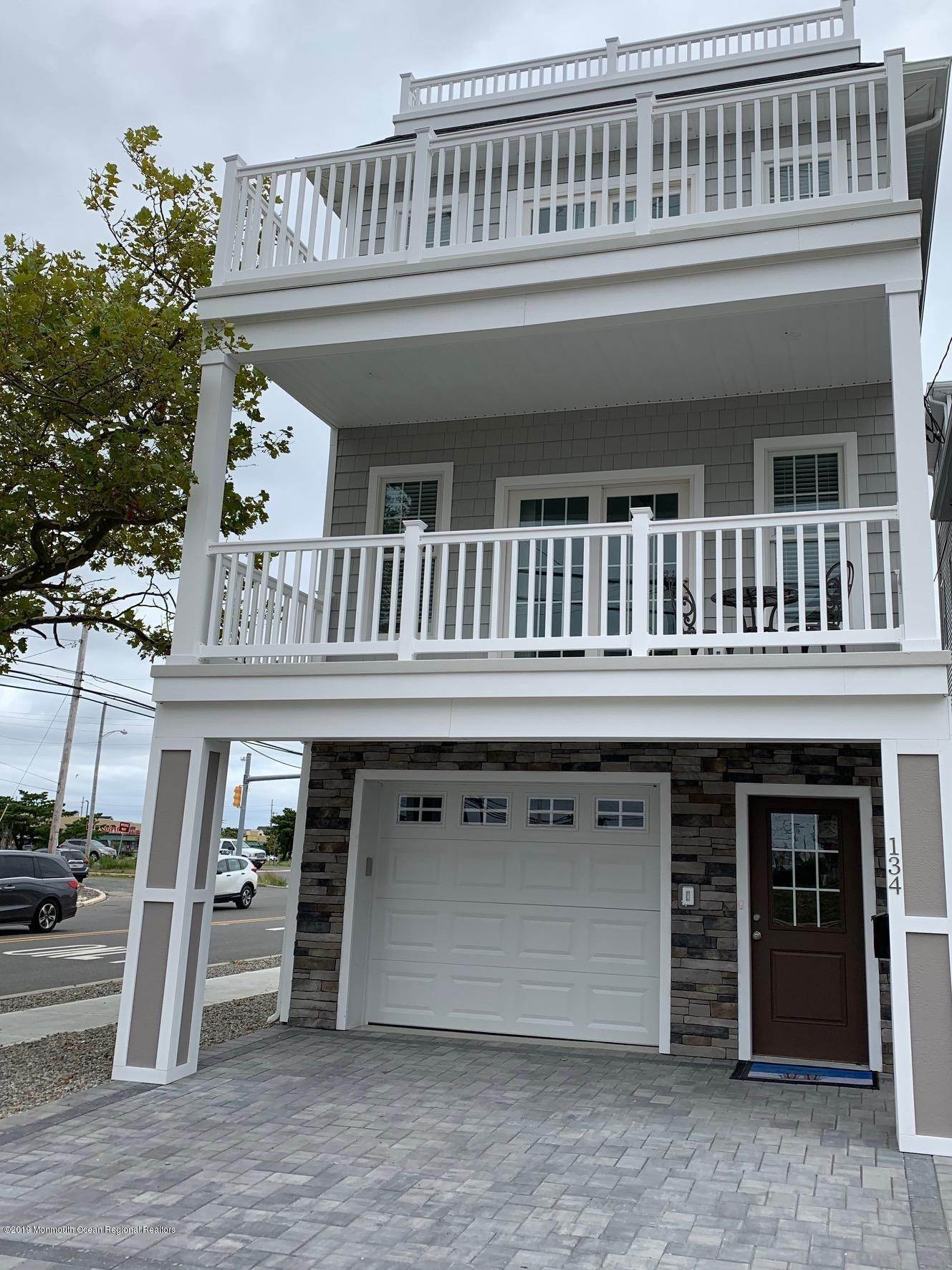 Single Family Homes for Sale at 128 Hancock Avenue Seaside Heights, New Jersey 08751 United States