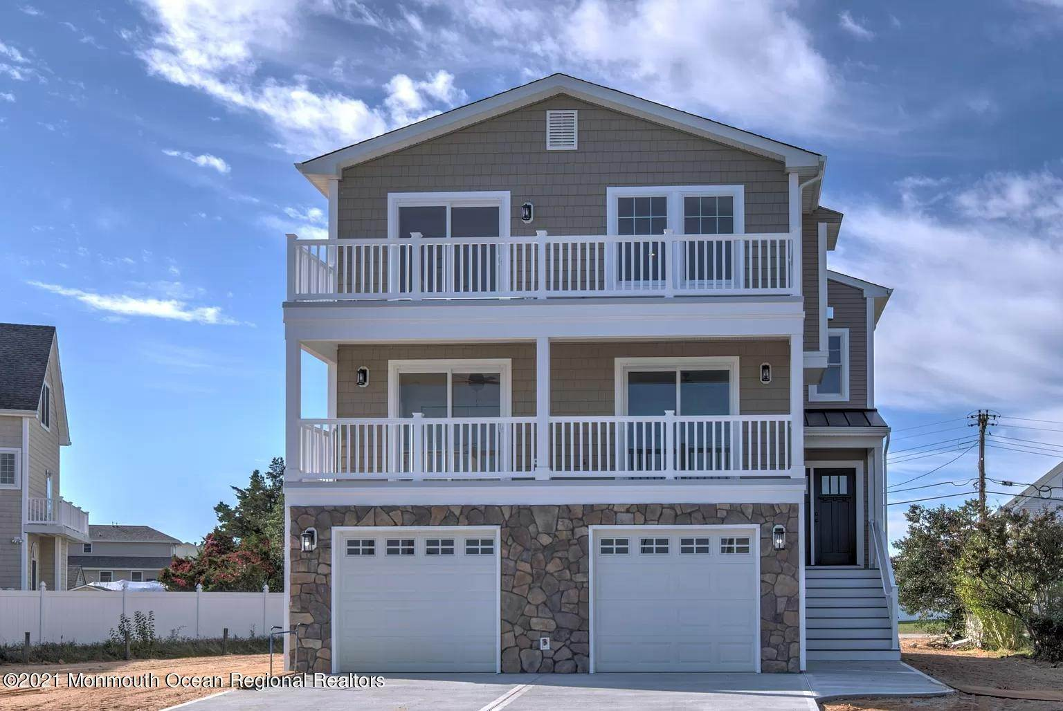 2. Single Family Homes for Sale at 114 M Street Seaside Park, New Jersey 08752 United States