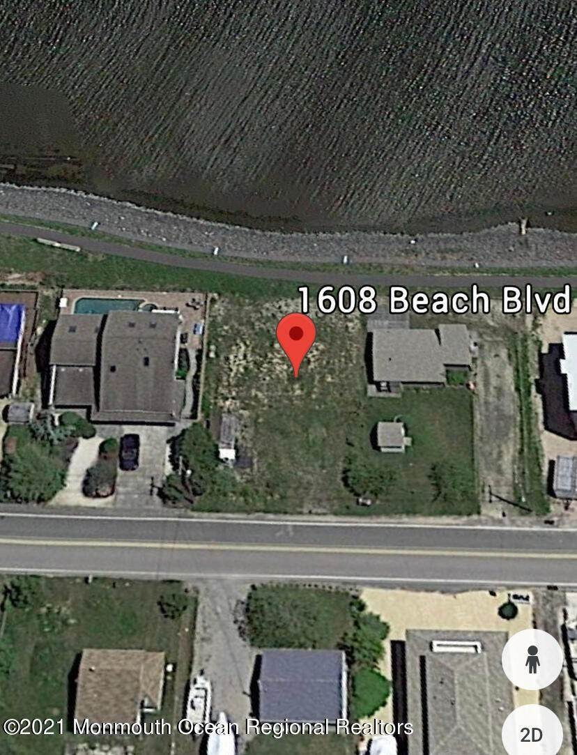 Land for Sale at 1608 Beach Boulevard Forked River, New Jersey 08731 United States
