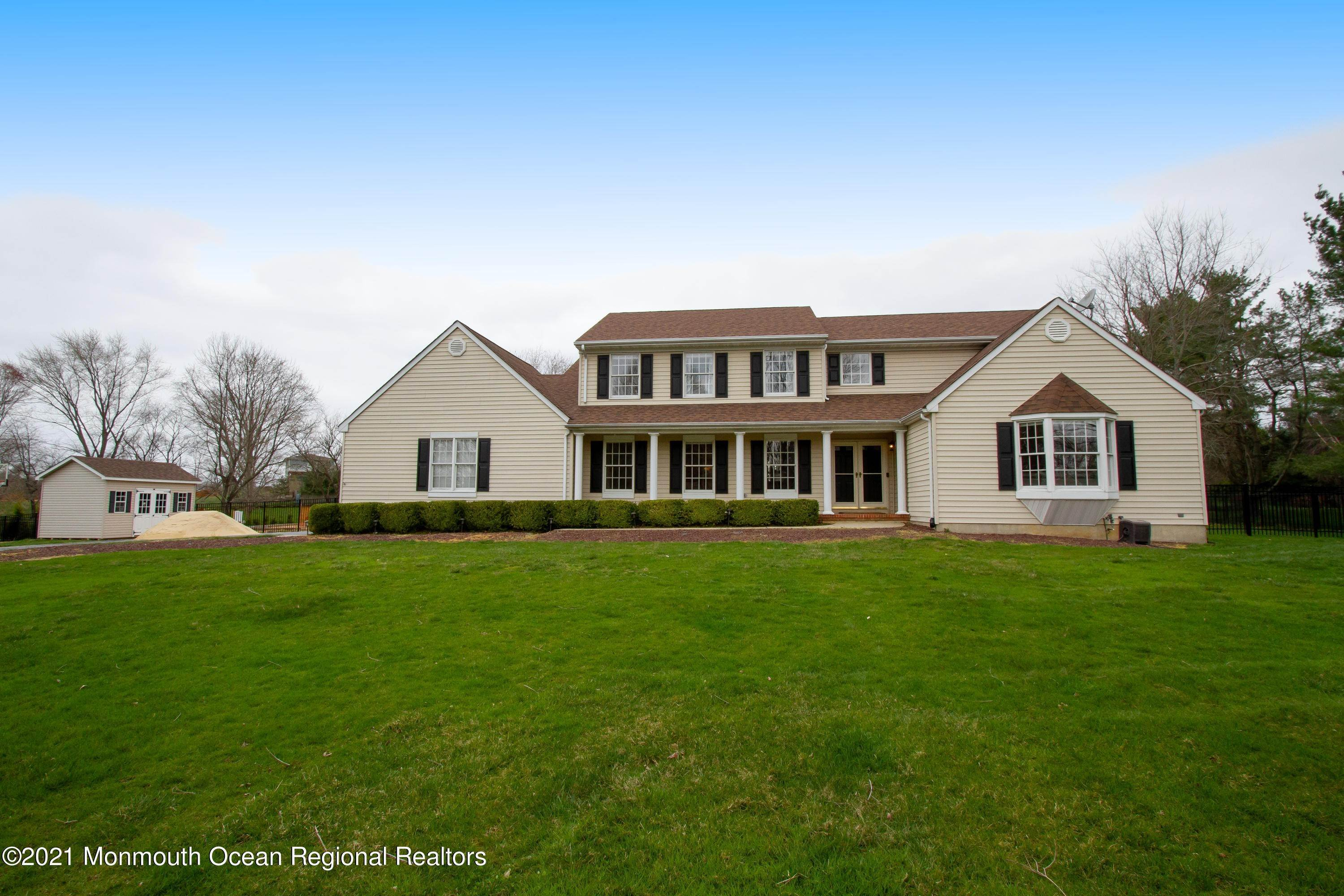 Single Family Homes for Sale at 19 Red Hawk Road Colts Neck, New Jersey 07722 United States