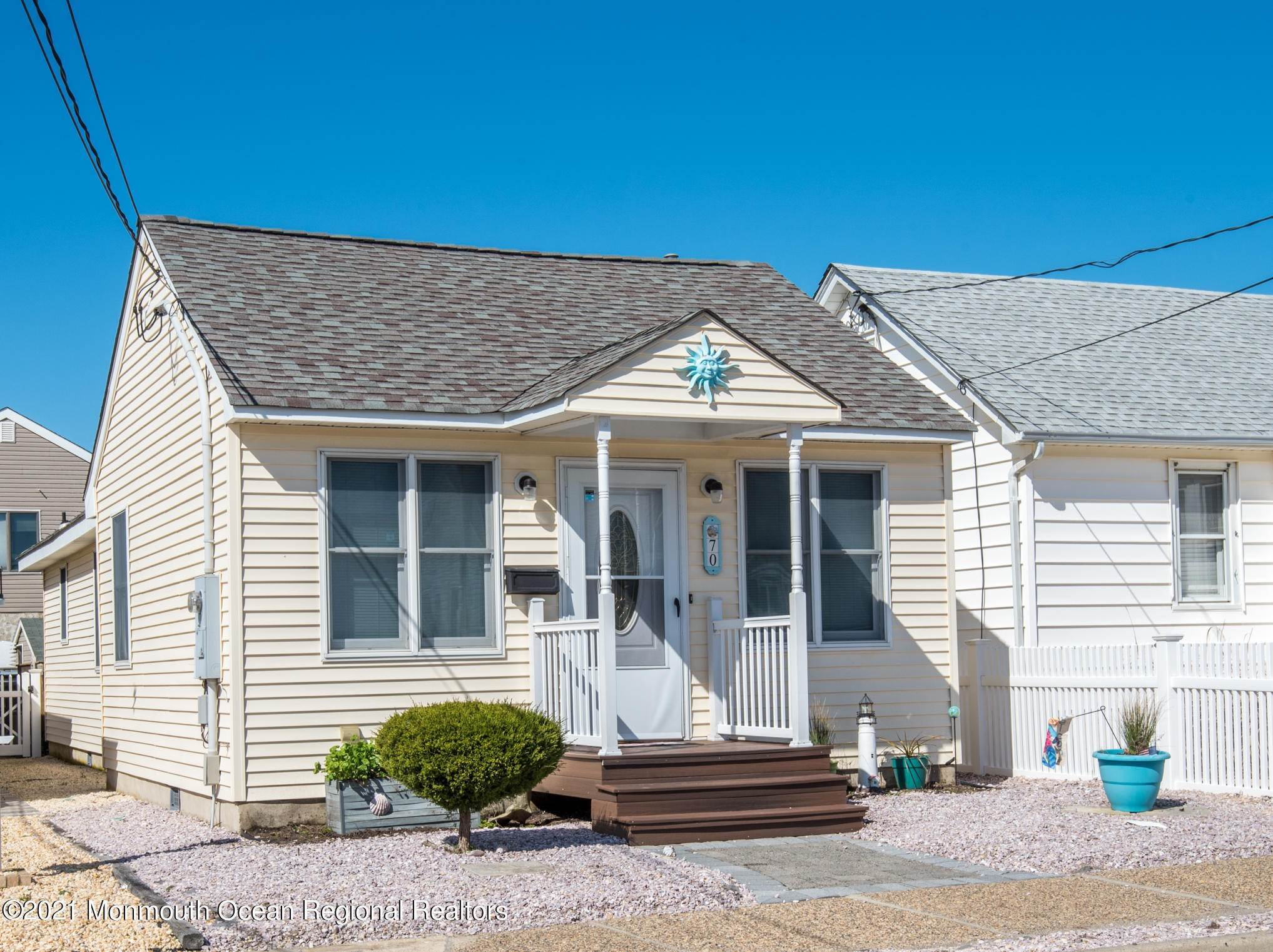 Single Family Homes for Sale at 70 L Street Seaside Park, New Jersey 08752 United States