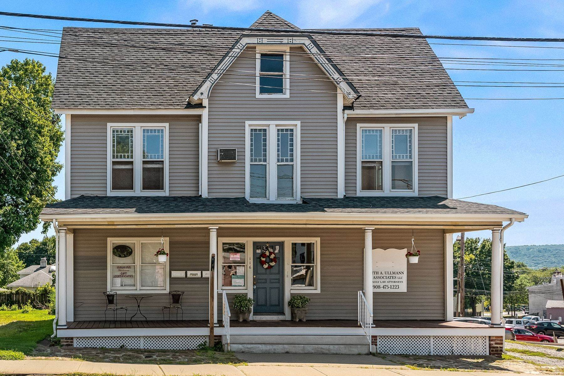 Single Family Homes for Sale at Great Opportunity! 116 High Street Hackettstown, New Jersey 07840 United States