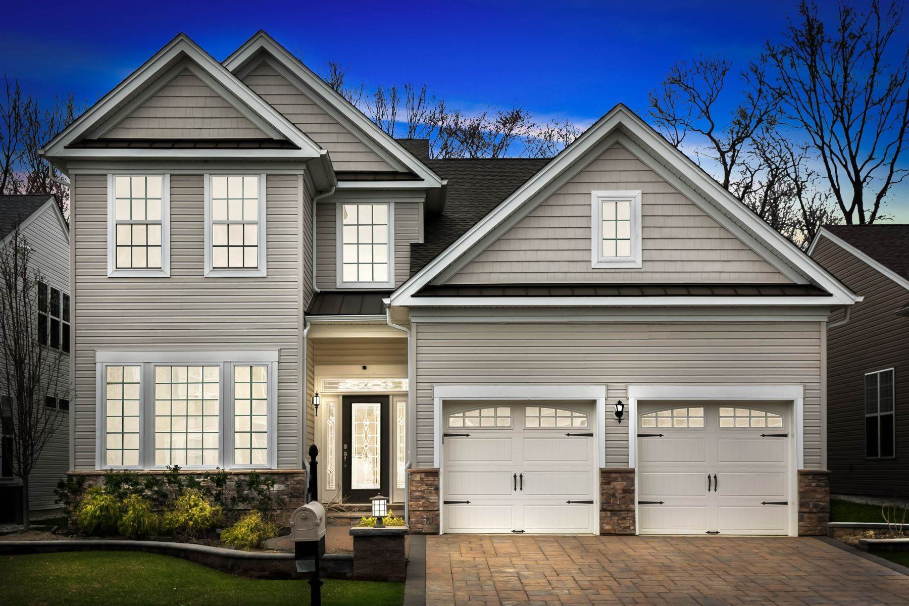 Single Family Homes for Sale at Regency at Trotters Pointe 36 Sunset Drive Tinton Falls, New Jersey 07724 United States