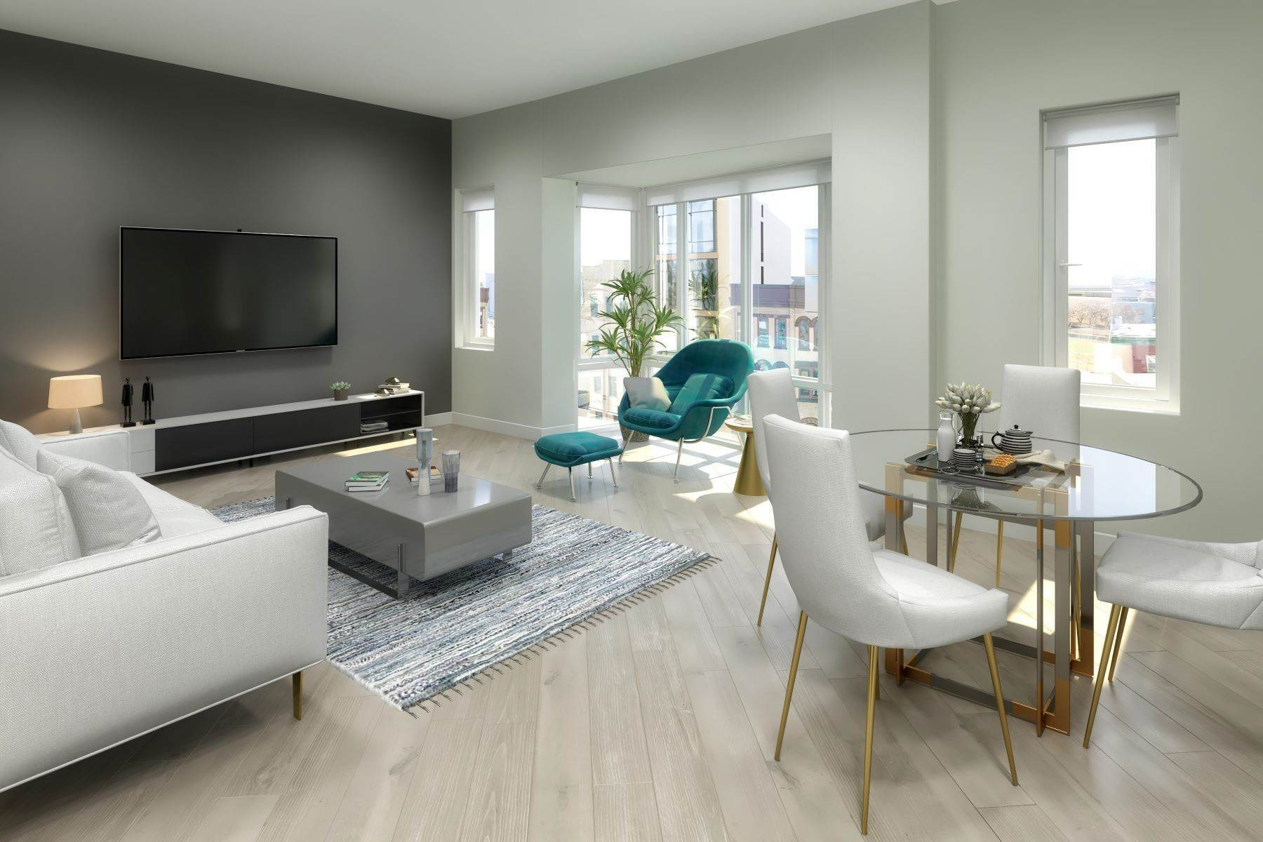 Condominiums for Sale at Welcome to downtown Jersey City's newest luxury boutique condominium building, 332 Newark Avenue, Unit 5B Jersey City, New Jersey 07302 United States