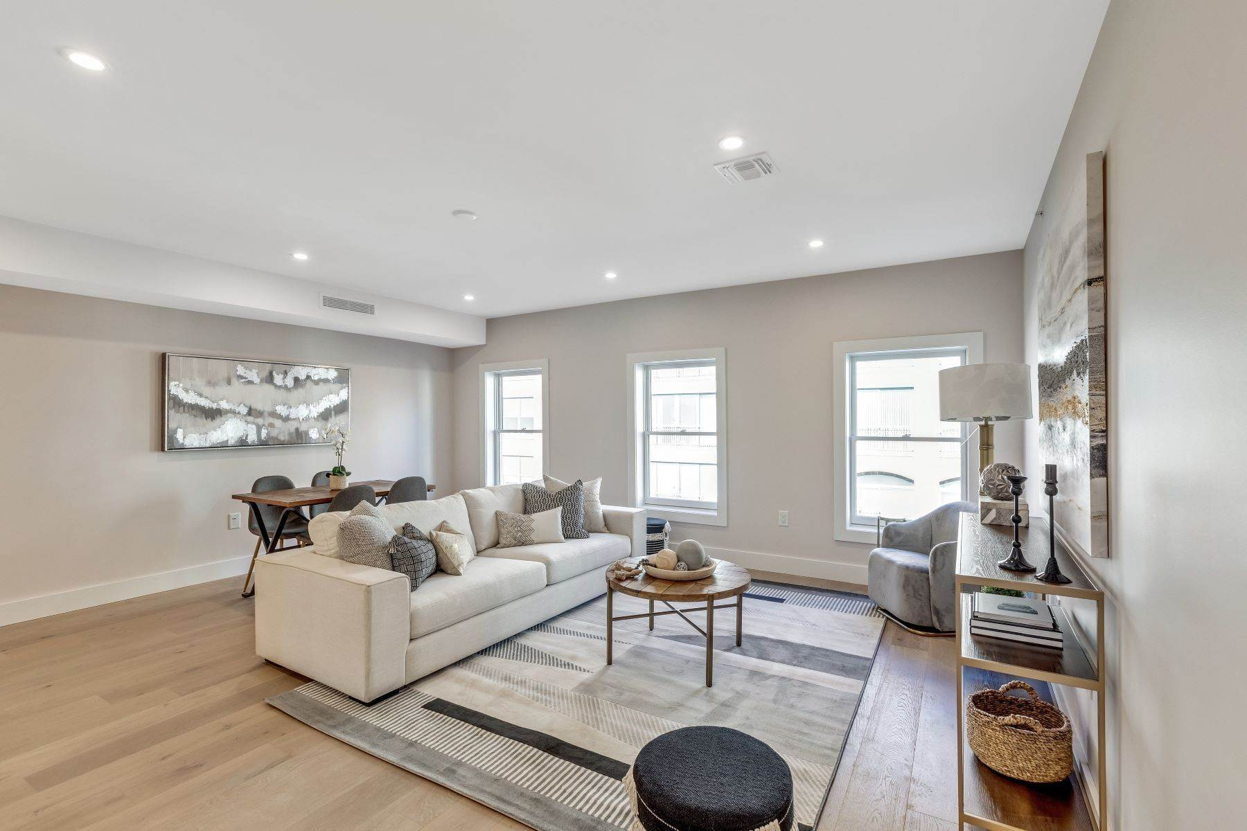 Condominiums for Sale at Welcome home to 223 Montgomery street condos. A three unit boutique project. 223 Montgomery Street, Unit 1 Jersey City, New Jersey 07302 United States