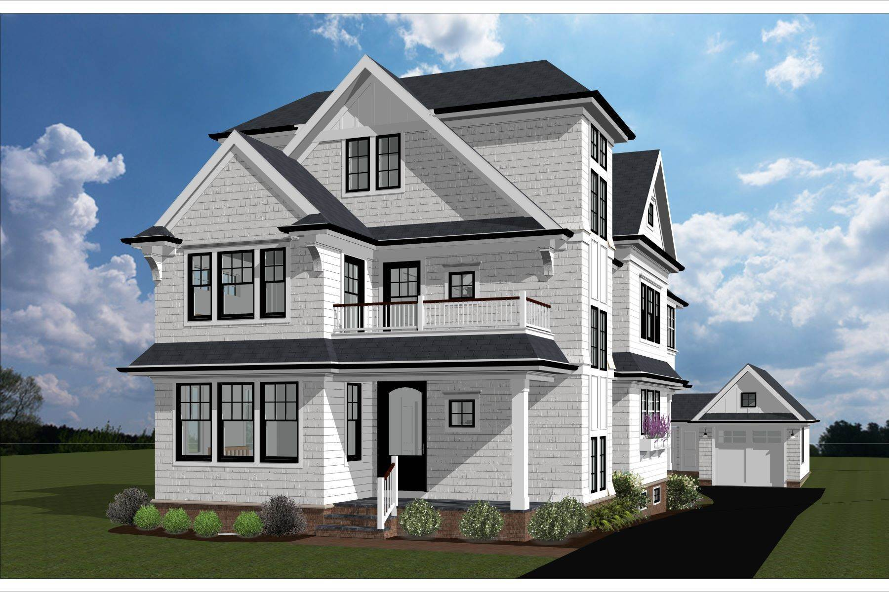 Single Family Homes for Sale at New Construction in Sea Girt 115 Beacon Boulevard Sea Girt, New Jersey 08750 United States