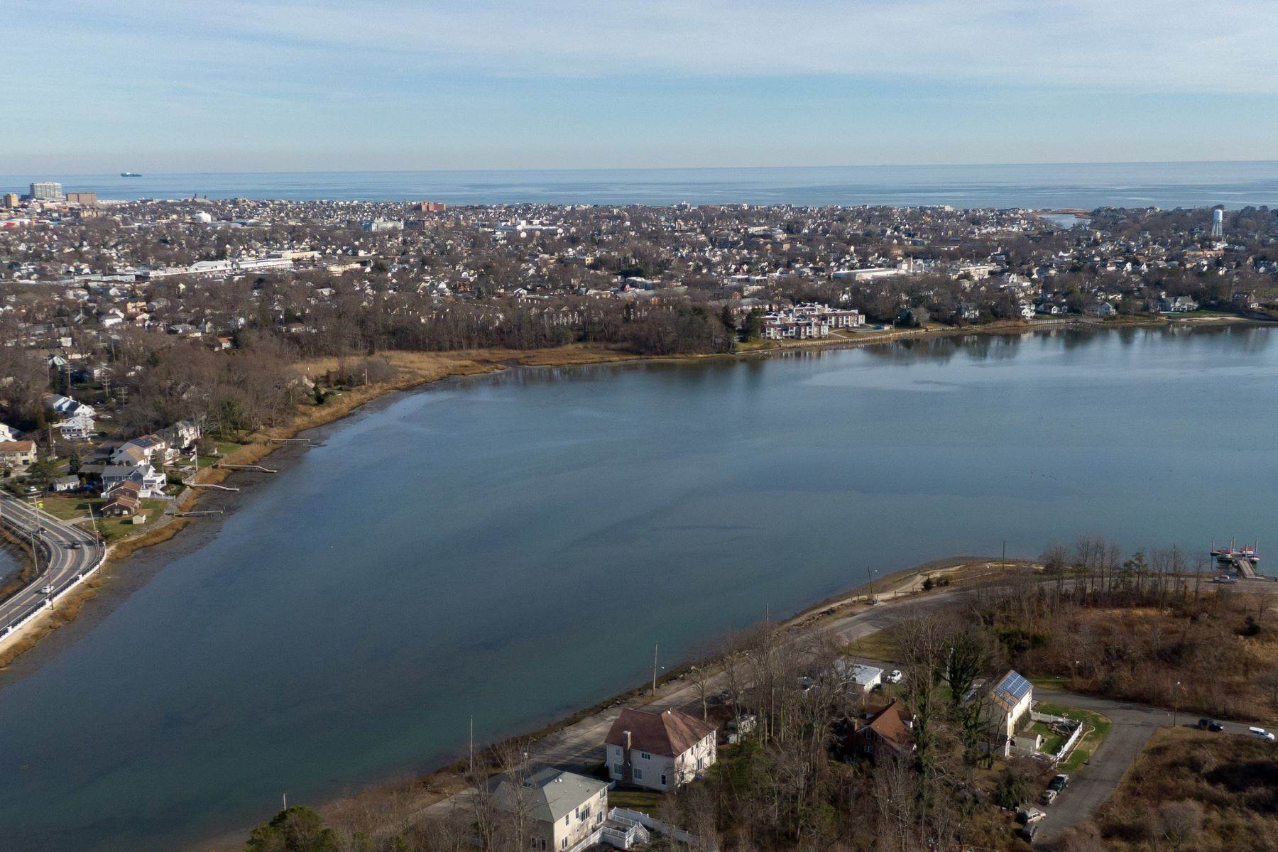 3. Single Family Homes for Sale at NEW Waterfront home to be built in desirable Shark River Hills 25 S Riverside Dr Neptune, New Jersey 07753 United States