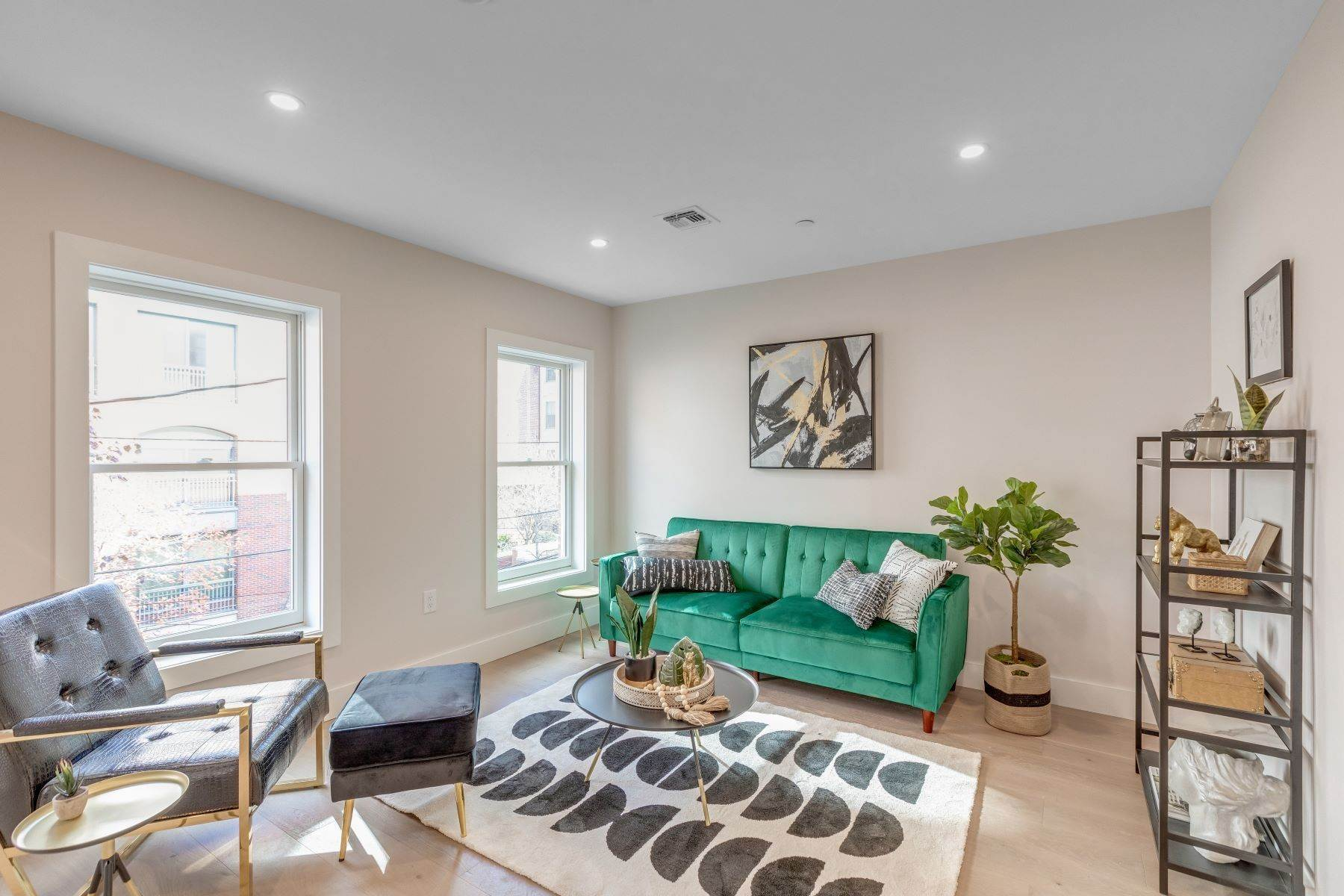 Condominiums for Sale at Welcome home to 223 Montgomery street condos. A three unit boutique project. 223 Montgomery Street, Unit 2 Jersey City, New Jersey 07302 United States