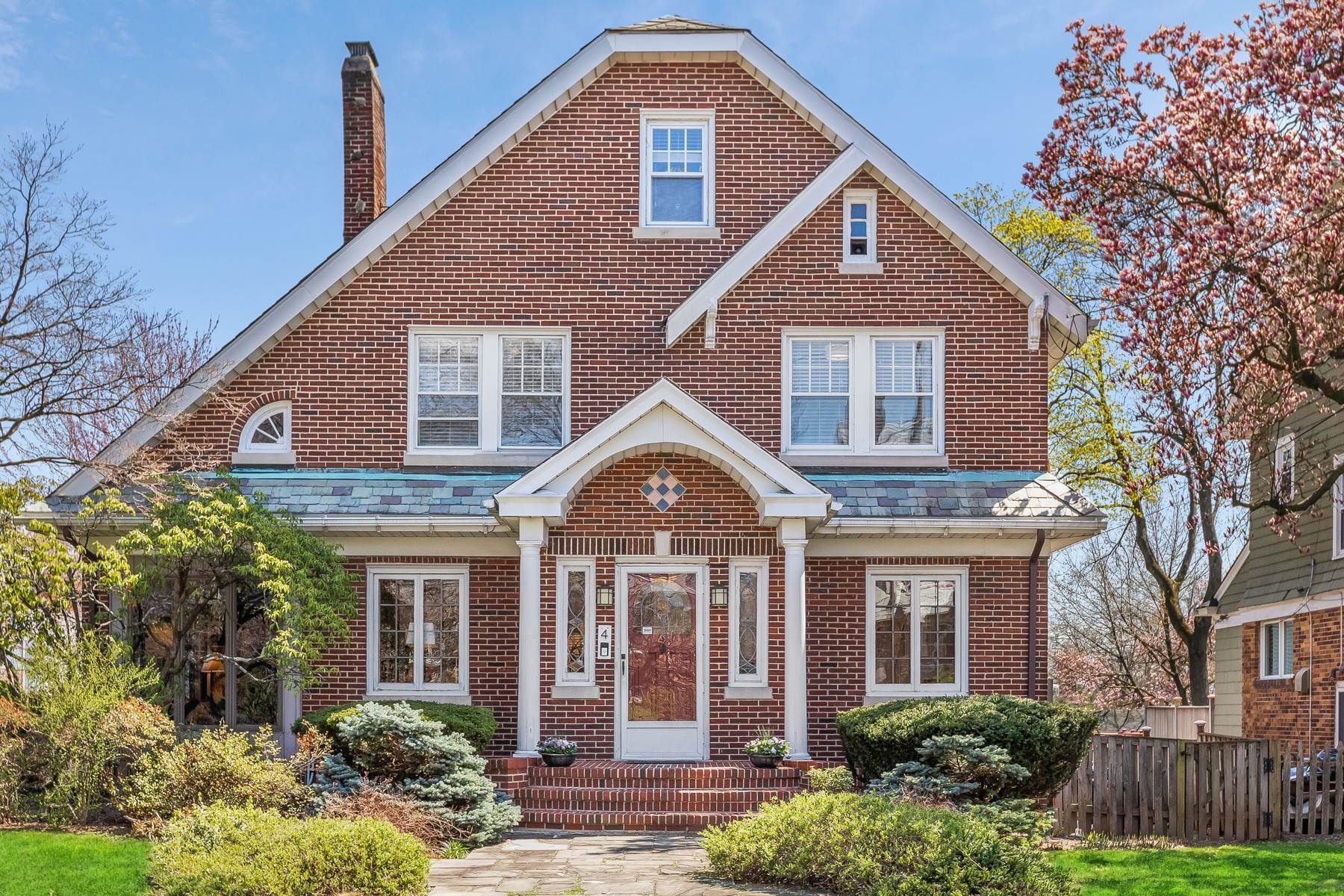 Single Family Homes for Sale at College Hill Colonial 4 Wellesley Road Maplewood, New Jersey 07040 United States