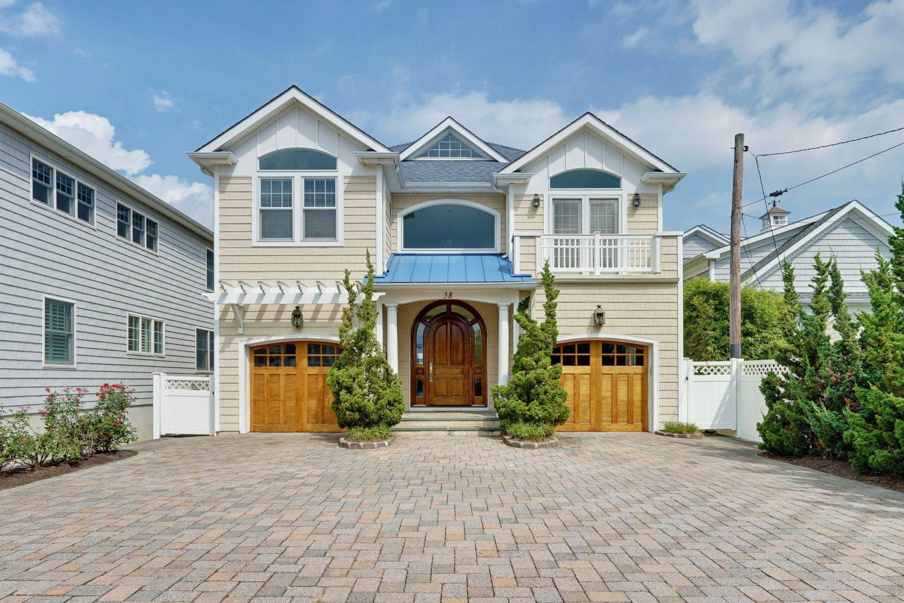Single Family Homes em Luxurious Summer Rental 38 Ocean Avenue Manasquan, Nova Jersey 08736 Estados Unidos