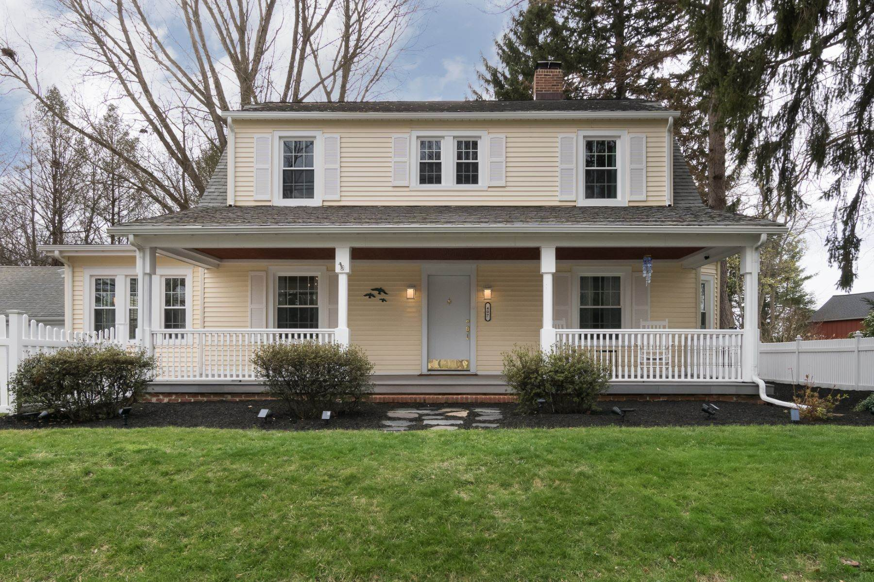 Single Family Homes for Sale at Renovated and Rejuvenated Inside and Out 407 Village Road East Princeton Junction, New Jersey 08550 United States